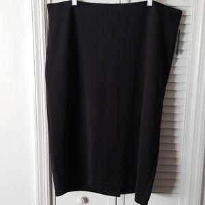Worthington Woman Black Skirt